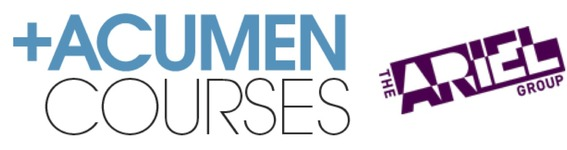 Acumen and Ariel Courses